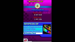 Mario Kart DS N64 Circuit New Font and Chain Chomps on N64 Rainbow Road