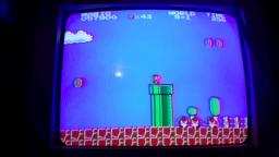 Mario Plays Super Mario Bros For The NES