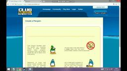 How to makea club penguin account