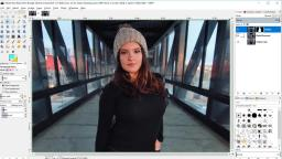 How to Blur Backgrounds in GIMP 2.10 - Shallow Depth of Field Effect by Davies Media Design