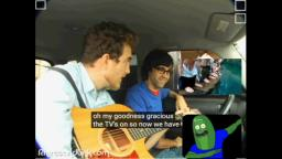 RHETT AND LINK DO PICKLE RICK RAP!!!