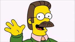 NED FLANDERS DICK LICKER FAGGOT ACTION XXX