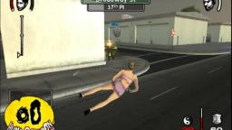 Play as Miley Cyrus in True Crime: Streets of L.A. (Gamecube)