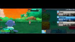 Pokemon Moon - Battle - 3DS Gameplay