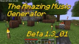 Minecraft: The Amazing Music Generator