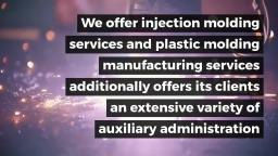 Expert Plastic Injection Molding Service