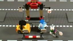 Lego 8206 Review Tokyo Pit Stop Cars 2