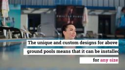 Causes To Own Above Ground Pools