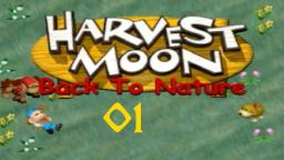 Let´s Play Harvest Moon-Back to Nature #01
