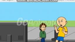 Caillou Watches PTLE And Gets Grounded