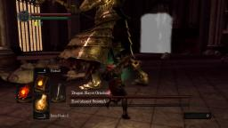 Dark Souls | Soul Level 1 build VS Dragonslayer Ornstein & Executioner Smough