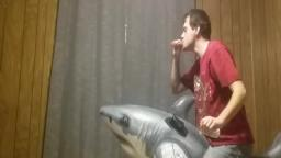 Stoner Rides Inflatable Shark