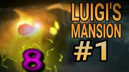LUIGI S MANSION.#1 PARLOR AREA