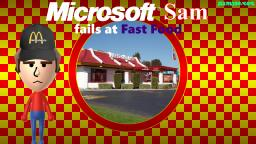 Microsoft Sam fails at Fast Food
