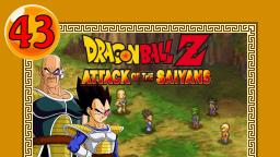 Lets Play Dragonball Z Attack of the Saiyans Part 43 - Die Ankunft der Saiyajins