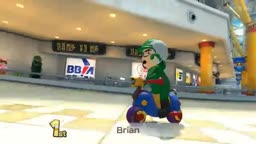 Me Playing On Sunshine Airport In Mario Kart 8 On The Nintendo Wii U