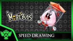 Speed Drawing: MobéBuds - Norrio (Concept 1) | Mr. A.T. Andrei Thomas