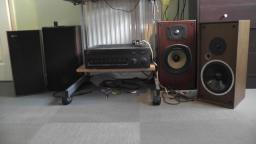 Testing the Vintage Celestion County Speakers & DL8 difference on my Yamaha AX 590 Stereo Amplifier