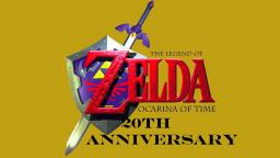 The Legend Of Zelda Ocarina Of Time 20th Anniversary (On My TheVideoGamer64 Channel)