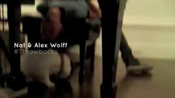 Nat & Alex Wolff - Throwbacks Promo 1