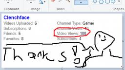 100 video views!!!!
