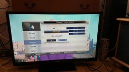 Testing the Cello C32227DVB 32 inch LED Television with freeview & retune I picked up