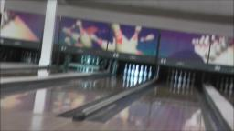 BOWLING AT THE BOWLING ALLEY