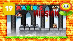 Lets Play Marios Mission [SMW-Hack] Part 19 - Die Wolkenfestung des Todes