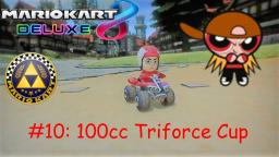 Mario Kart 8 Deluxe Mii Character Races Episode 10: 100cc Triforce Cup with Brick