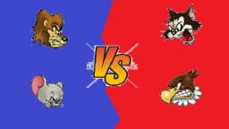 Tom and Jerry: War of the Whiskers (GameCube) - Fight 1