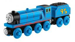 Aidan the Express Engine in Thomas Merchandise Art