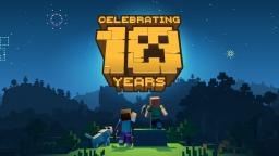 Minecrafts 10th anniversary signatures!