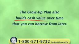 Gerber Life | Grow Up Plan | Television Commercial | 2009