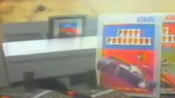 Pole Position (Atari 2600) - Retro Video Game Commercial Ad