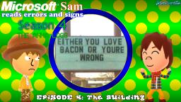 Bacon & Gold read errors and signs (S4E4): The Building
