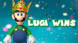 Luigi Wins by Doing Absolutely Nothing (Super Mario Party)