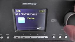 Roberts Stream 93i wifi DAB+ digital radio playing DAB stations and how many it picks up unedited