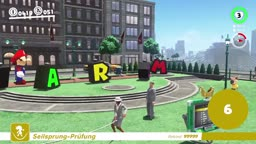 Super Mario Odyssey how to use the jump-rope Glitch