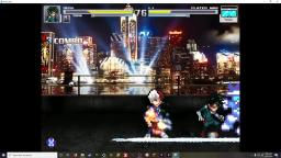 MUGEN-Deku and Todoroki VS Player Man