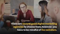 Recommendations To Select The Best Digital Marketing Agency