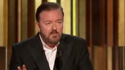 Ricky Gervais at the Golden Globes 2020 - All of his bits chained
