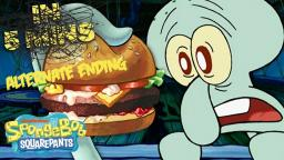 Squidward's First Krabby Patty 🍔 (Alternate Ending)