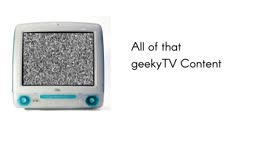 The geekyTV Channel Commercial