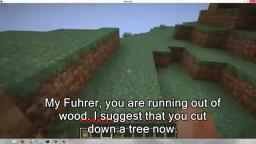 Hitler Plays Minecraft