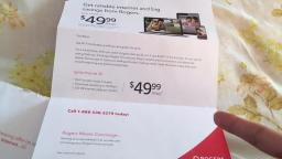 Rogers Cable Really Wants My Mom To Come Back For Internet