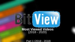Bitviews most viewed videos (2018 - 2020) (part 1)