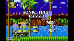 Sonic the Hedgehog Genesis (GBA) | Green Hill Zone