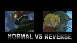 #A1ANIMACION OPENING NORMAL VS REVERSE OPENING 1 FULL METAL ALCHEMIST