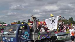 00096 August 2015 At Walton On The Naze Carnival Essex Display Procession 2015 Unedited Video