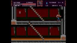 Castlevania: Bloodlines - Boss - Sega Genesis Gameplay